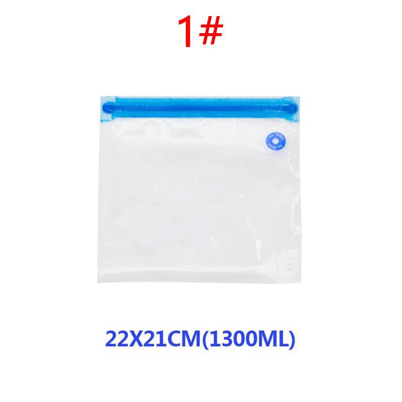 5PCS Vacuum Sealer Bags Food Saver Vac Seal Storage Bag Multi-Use Pumping Type