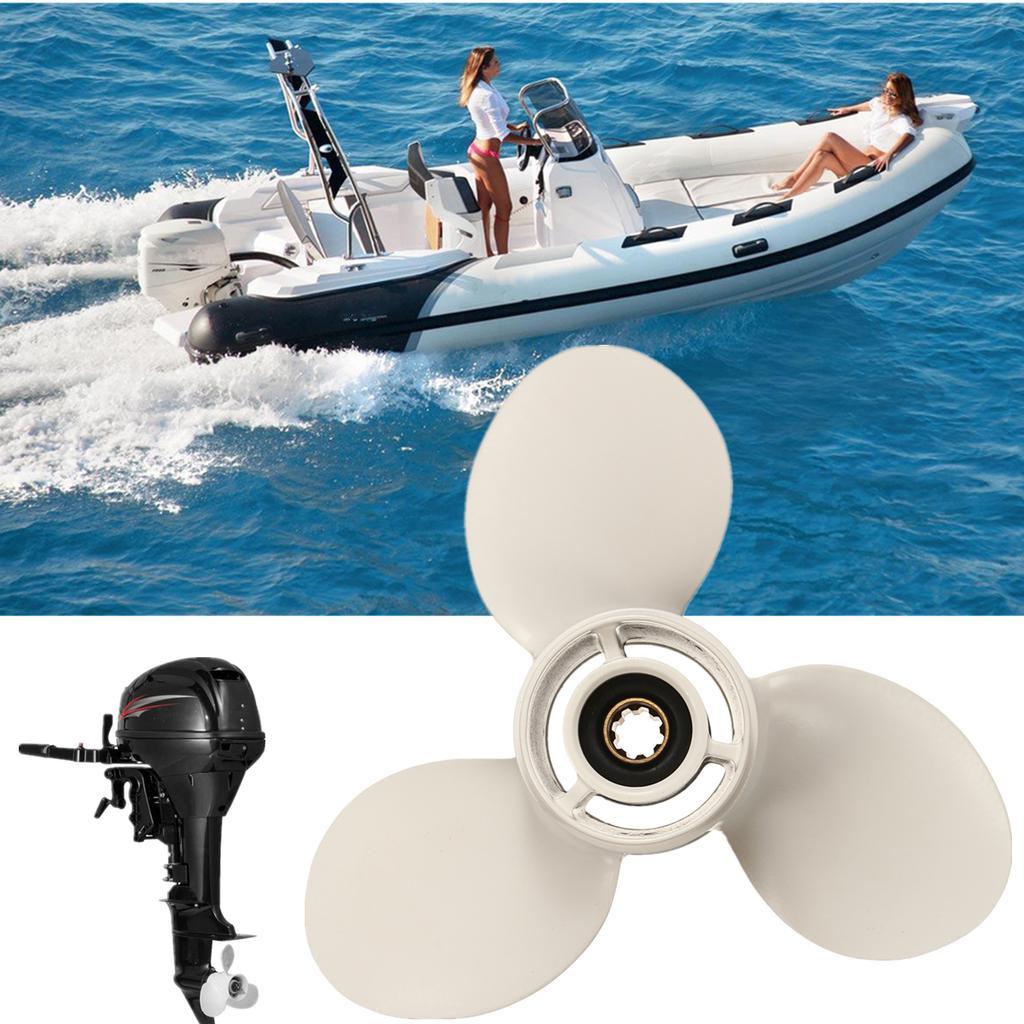 9 1//4 x11 Aluminum Boat Outboard Propeller For Yamaha 9.9HP 15HP 63V-45943-00-EL