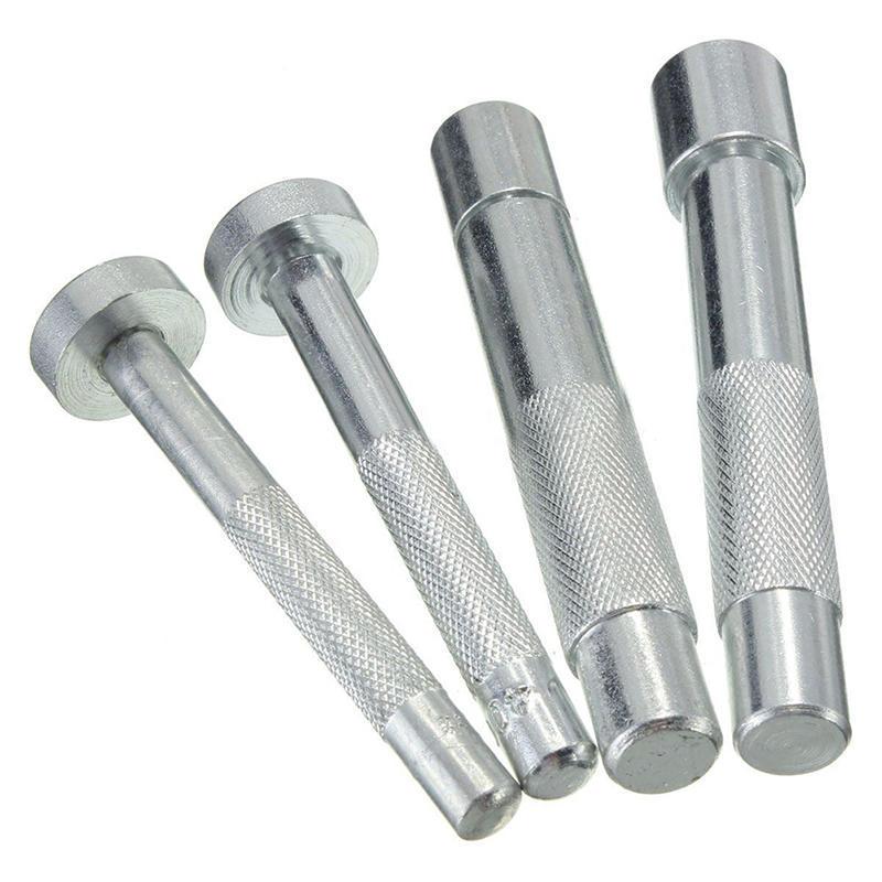 Outils de bricolage faits /à la main de bricolage trou de coupe-oeillet en acier au carbone pour le m/étier du cuir V/êtements oeillet oeillet poin/çon Die outil argent 10mm