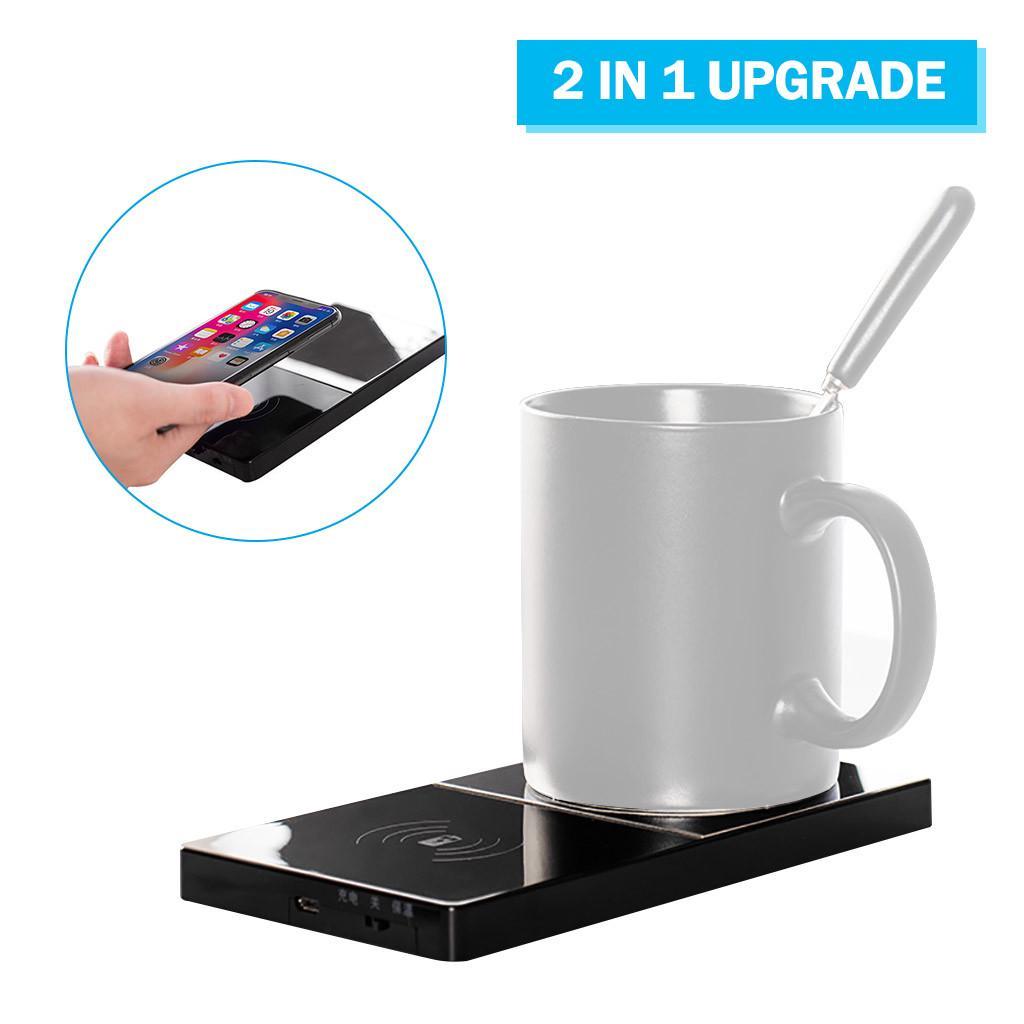 3 Modes Electric Smart Coffee//Milk//Drink Smart Heater Warmer Tray Mat Cup Mug UK