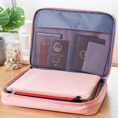 Color : Green Travel Passport Wallets Credit Card Cover Large Capacity Waterproof Document Organizer Travel Accessories Passport Holder