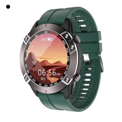 Smart Watch Business Men Type 1.28 Inch Full Touch Screen Bluetooth Call Motion Monitoring IP67 Waterproof Men's Gift