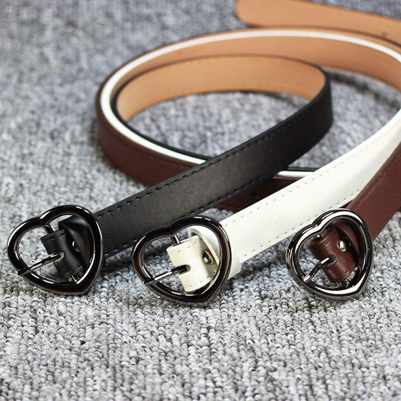 Womens Round Eyelet Buckle Waist Belts for Jeans Causal Belts Accessories