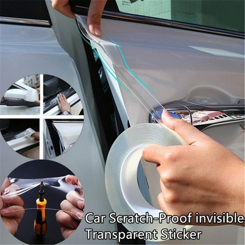 Useful Invisible Adhesive Car Door Handle Scratch Protection Film Sticker *4