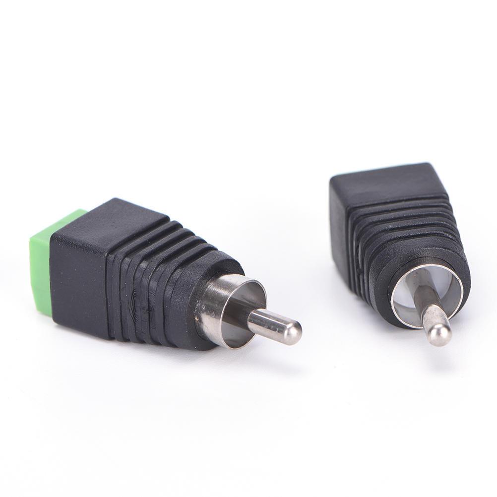 4 Stk Lautsprecherkabel Kabel Audio männlichen Cinch Stecker ...
