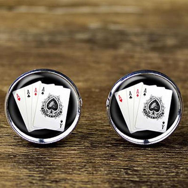 Poker Cufflinks