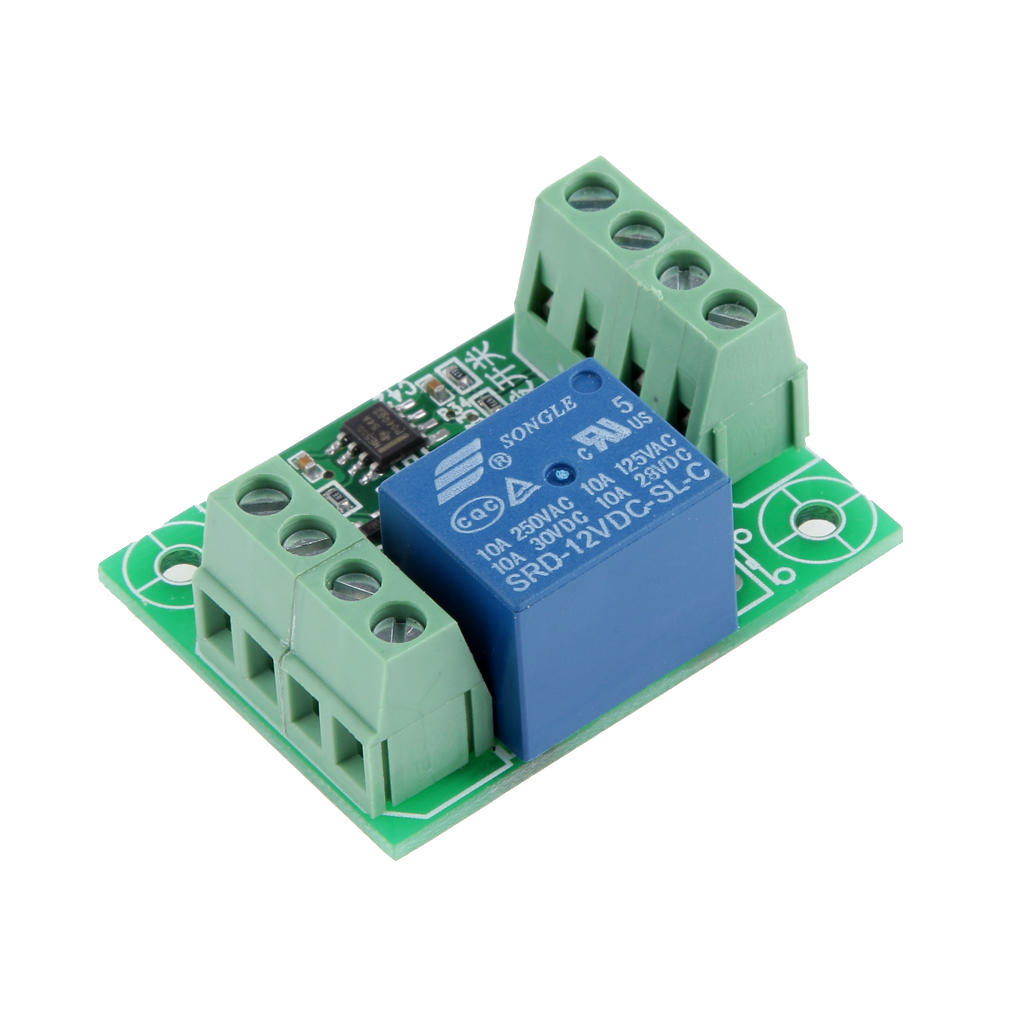 Dc12v Touch Electronic Switch Control Relay Bistable Trigger Action Circuit Module