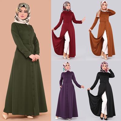 1a1d158b Ubiera się w Azji południowo-wschodniej muzułmańskie szaty geometryczne  huśtawka malezja długa spódnica kobiet szwy geometrii arab