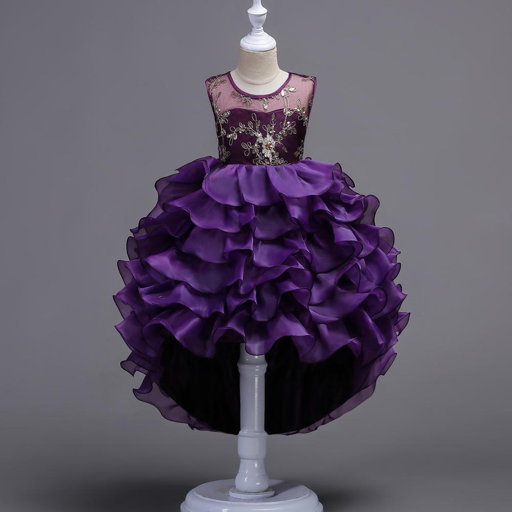 Flor de trébol amargo niña faldas a vestidos de fiesta de princesa ...