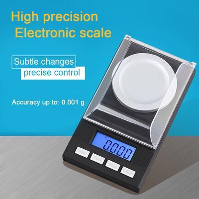 Neoteck Digital Turntable Stylus Force Scale Gauges Tester 0.01g LCD Backligs