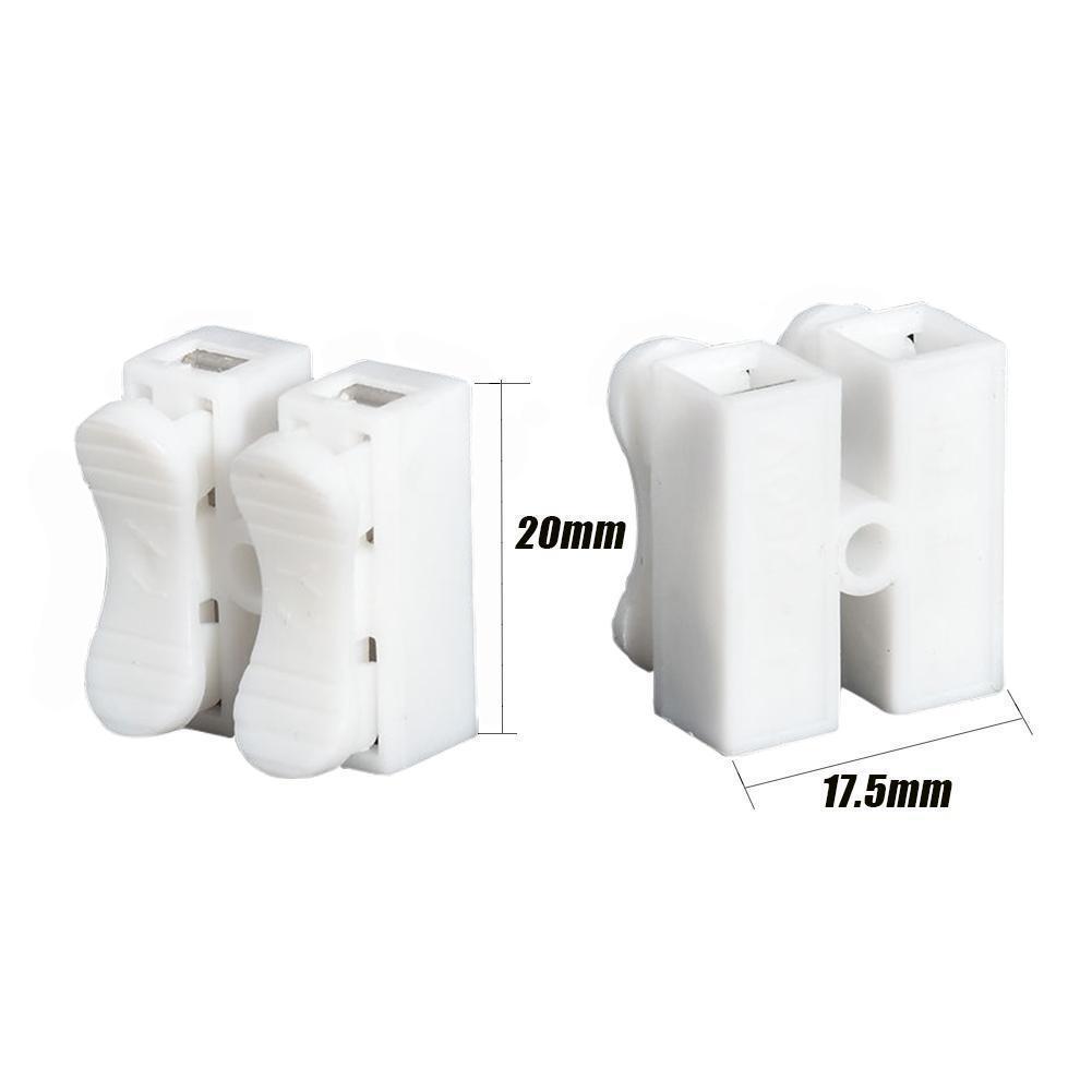 30 Stück selbstsichernde Stromkabel Connector Kit schnell Spleiß ...
