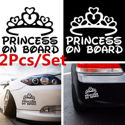 2pcs Set ST RACING Car Sticker Waist Line Door Vinyl Decal Reflective Auto Refit