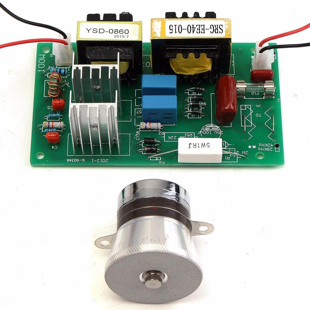50w 40khz Ultrasonic Cleaning Transducer Cleaner Power Driver Circuit 1 Of 7