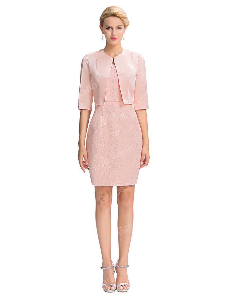 Libre madre de chaqueta de color rosa de traje/traje de la novia ...