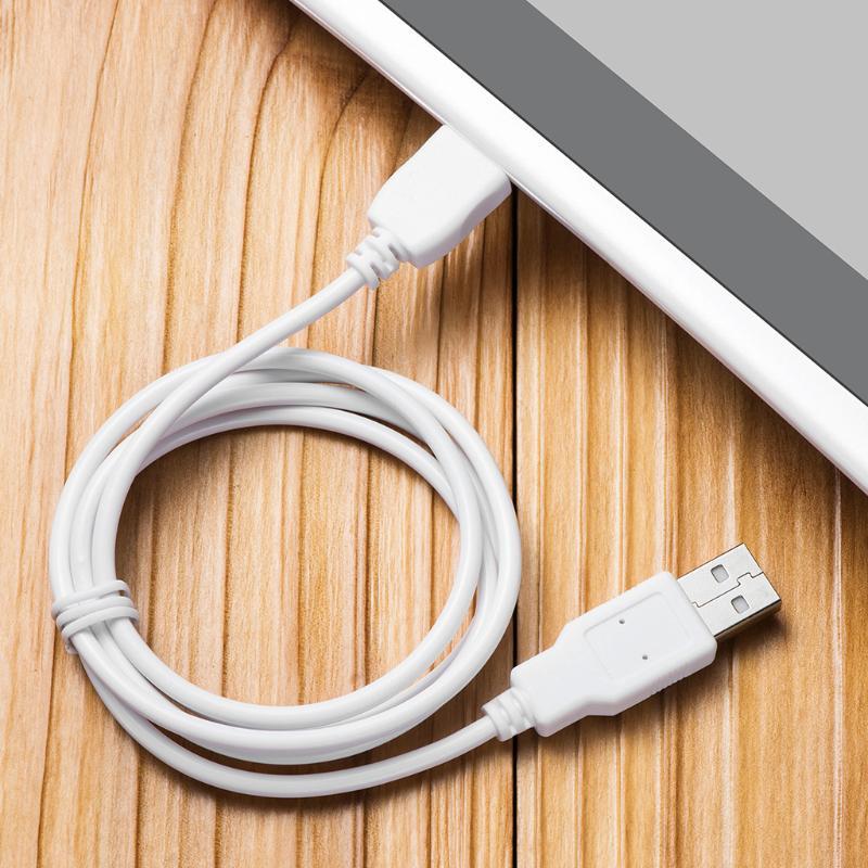White Charger Cable Cord for Fuhu Nabi DreamTab DMTab Jr XD Kids 2S Elev8 Tablet