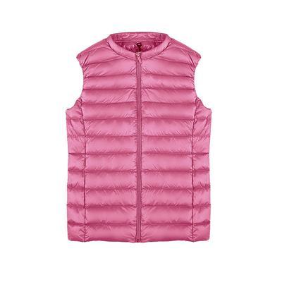 Women's Clothing Women Autumn Winter Vest Casual Solid Slim Hooded Sleeveless Parkas Coat Two Pocket Waistcoat Cotton Padded Vest Female M-3xl