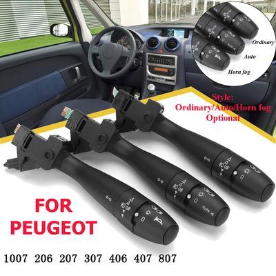 Steering Column Headlight Indicator Wiper Switch for Renault Megane 2003-2008