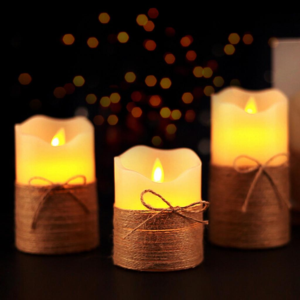LED Real Wax Candles-Candle Holder 2 Votive 2 Candle Holders Lotus Flower