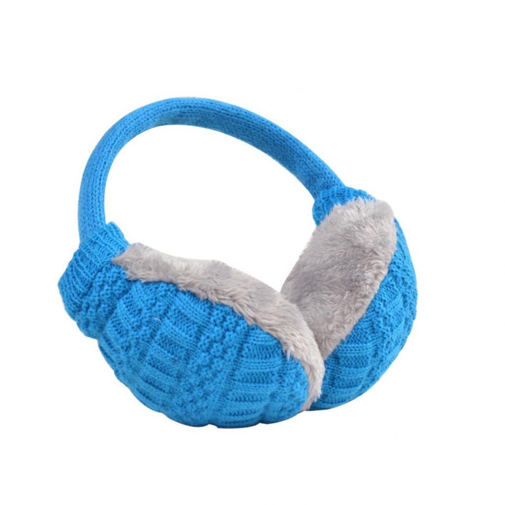 Acogedor diseño invierno esponjoso Earwarmers ajustable suave ...