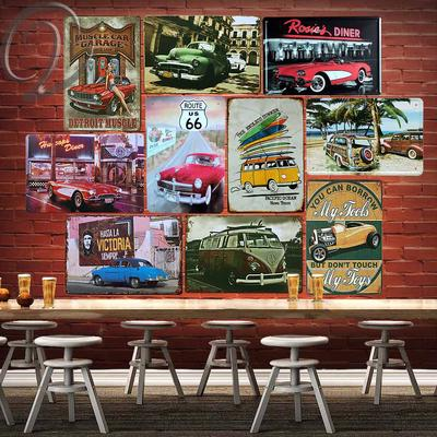 Pub LANCIA MOTOR OIL Retro Metal Plaque//Sign Bar Man Cave,
