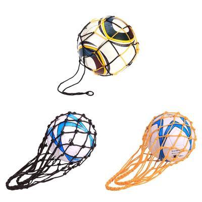 1 Pcs 10 Balls Sport Basketball Soccer Nylon Carry Mesh Bag 115cm Office & School Supplies
