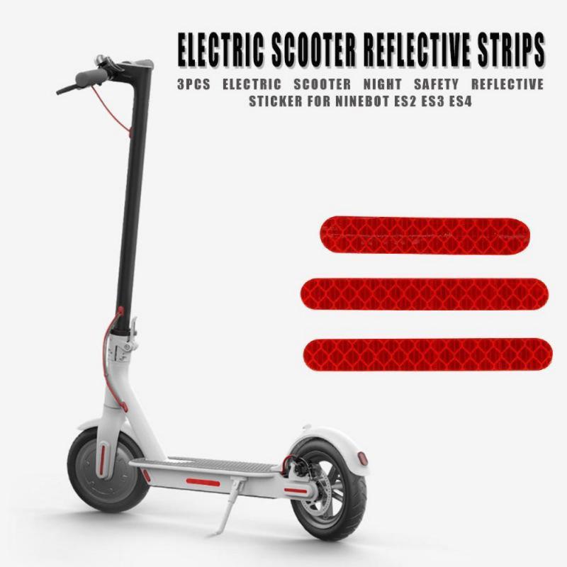 Decorative Light Reflective Stickers For Ninebot Segway ES1 ES2 ES3 ES4 Scooter