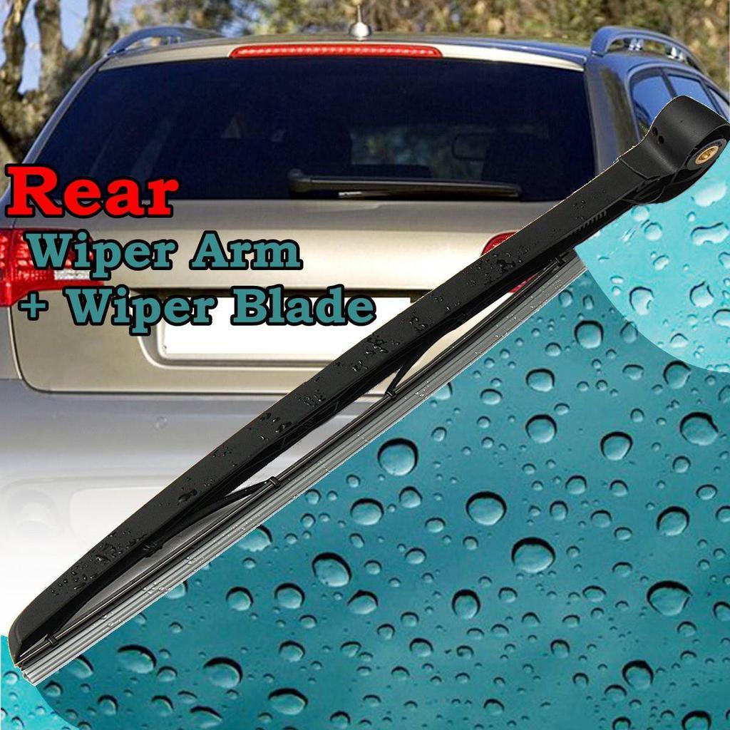 Car Rear Windscreen Snow Wiper Windshield Rain Wipers Arm Blade for Audi A6 AVANT C6 4F 2005 2011