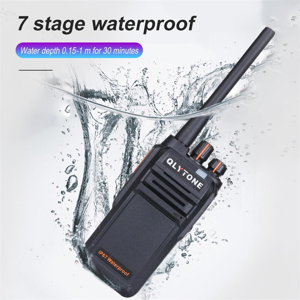 Walkie Talkies Set Rechargeable Long Distance 2 Way Radio for Adults UHF 400~470 MHz 16 Channel with Earpieces 4 Pack Intercom Tool Walky Talky