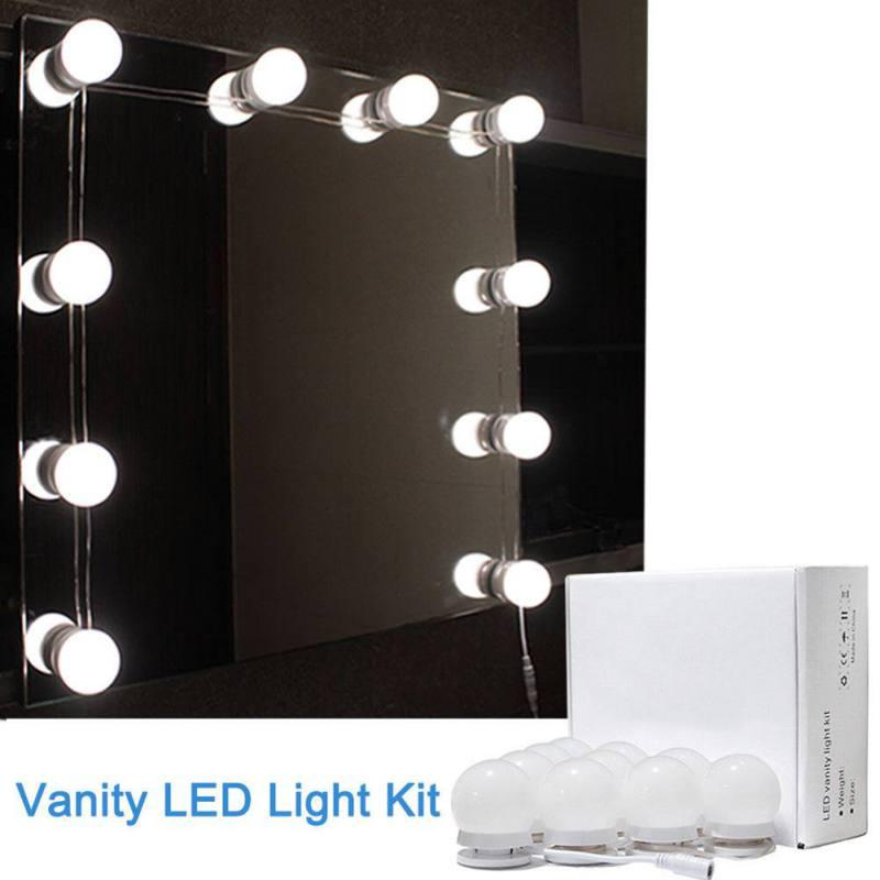Led Vanity Mirror Lights Kit With, Makeup Mirror Light Kit