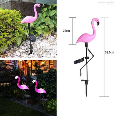 Weather Proof Solar Powered Decorative Outdoor Garden Flamingo Ornament Lights
