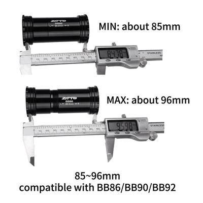 Bike Press Fit Bottom Bracket Bicycle BB Parts Axis Bearing BB86 24mm BB92 BB90