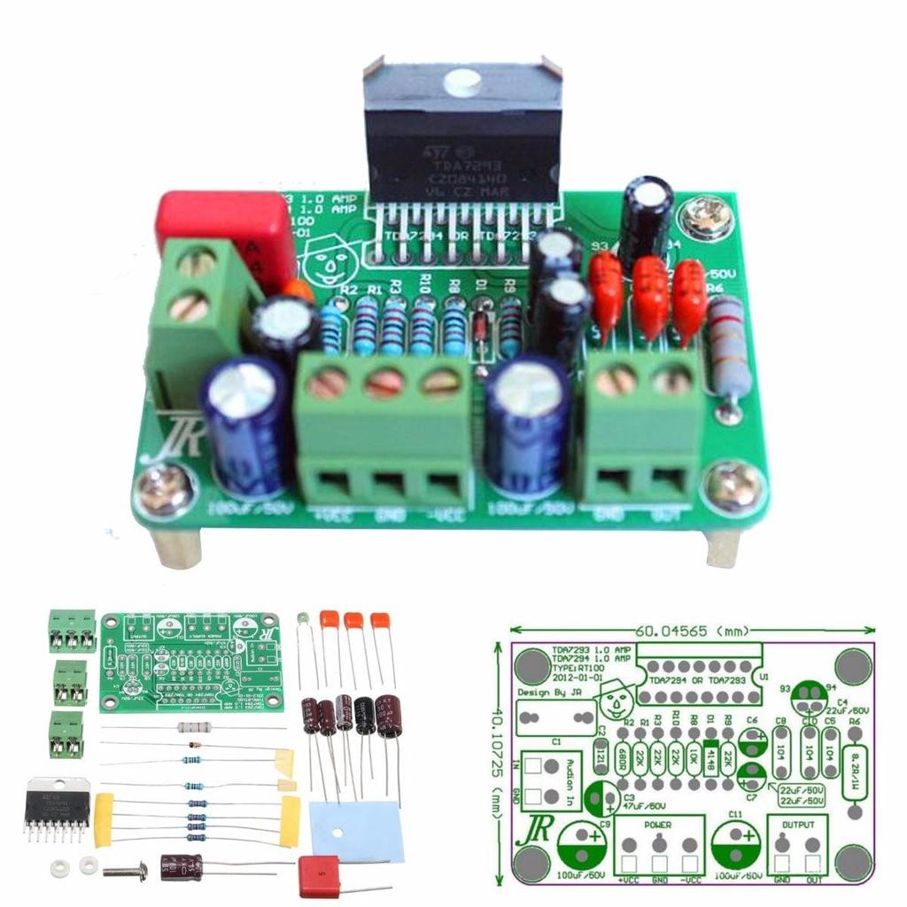Tda7294 80w Mono Audio Amp Amplifier Board Dc30v 40v Diy Kits Fit 2x100w Class D Circuit Hip4081a 200w Power 1 Of 9