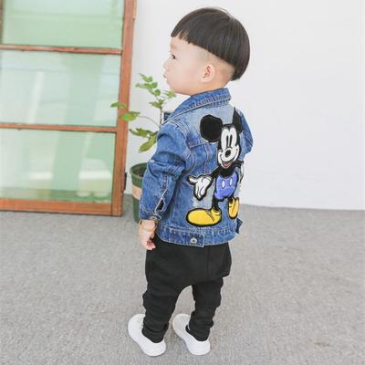 Happy childhood Toddler Baby Girl Boy Kids Warm Cartoon Coat Winter Little Bear Jacket Outerwear Hoodie