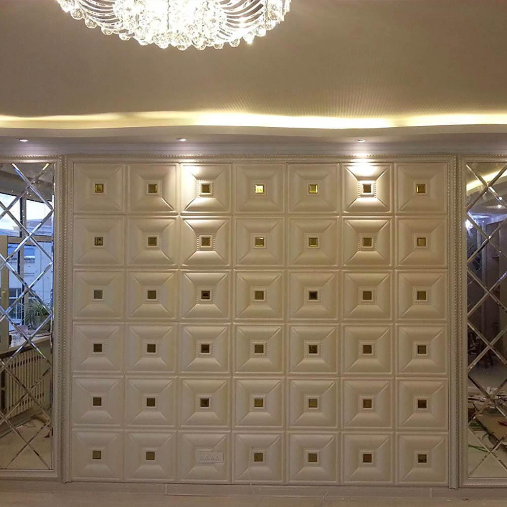 1шт PE пена 3D самоклеящаяся плитка водостойкие наклейки на стену домашний декор – купить по низким ценам в интернет-магазине Joom