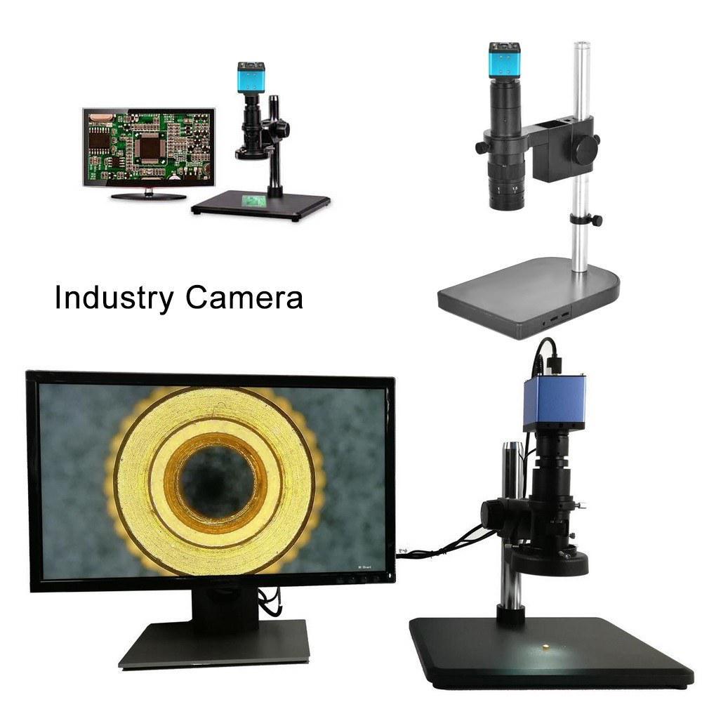 1080P HD VGA Industry Camera 2MP Digital Microscope PCB Inspection Repairing
