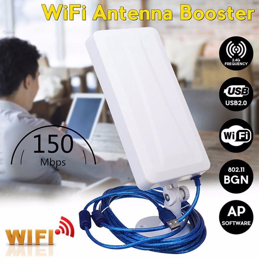 Router WiFi Booster Range Extender Gateway Mini PCI Express PCIe scheda di rete USB adattatore Technikkram 2,4 GHz 2400 MHz 7 dBi Antenna esterna SMA per Fritz Box