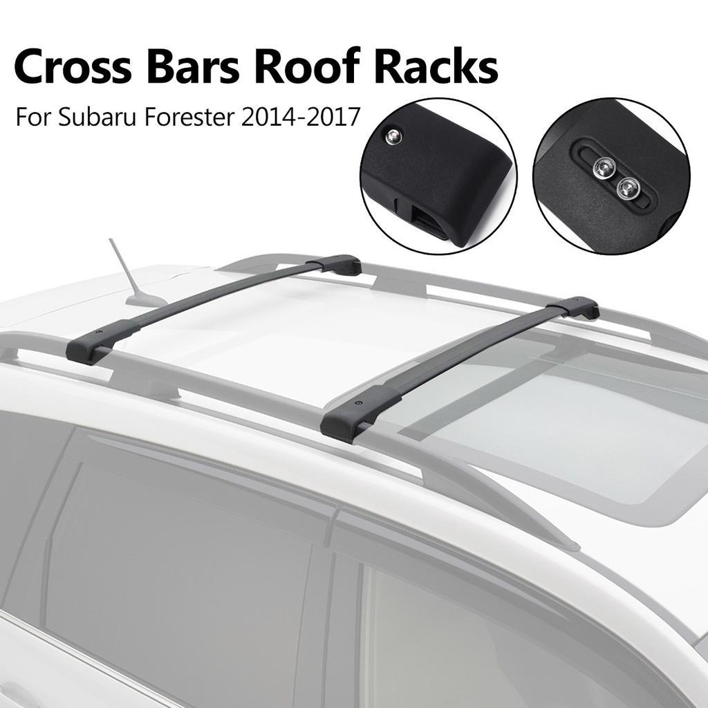 CAR LOCKABLE ROOF RACK BARS Subaru Forester Impreza Legacy Outback Tribeca