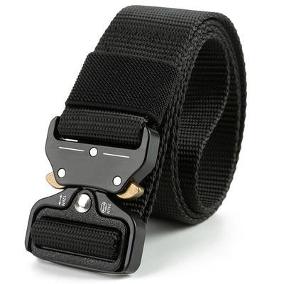 Men/'s Multifunctional Military Training Outdoor Belt Cobra Buckle Tactical Belt