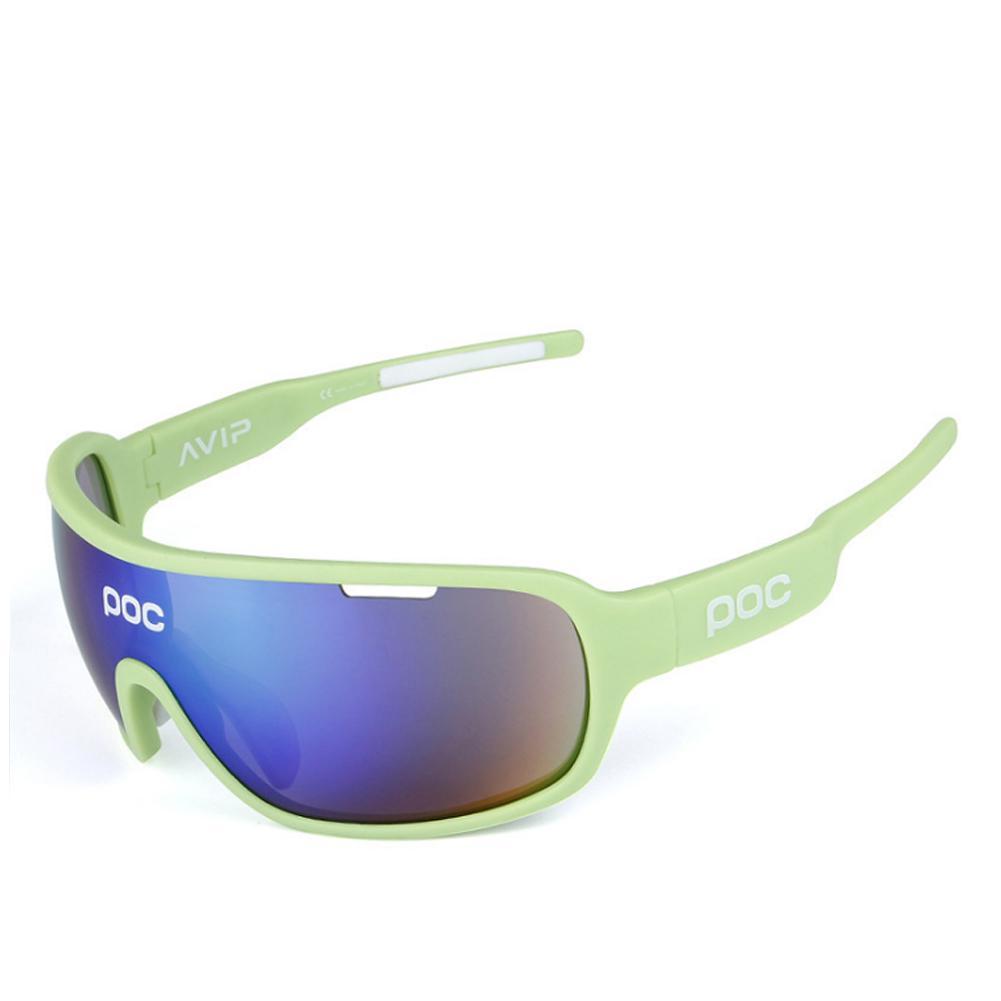 POC Cycling Goggle Polarized Sunglasses Bicycle Sports Glasses 5 Pcs Lens UV400
