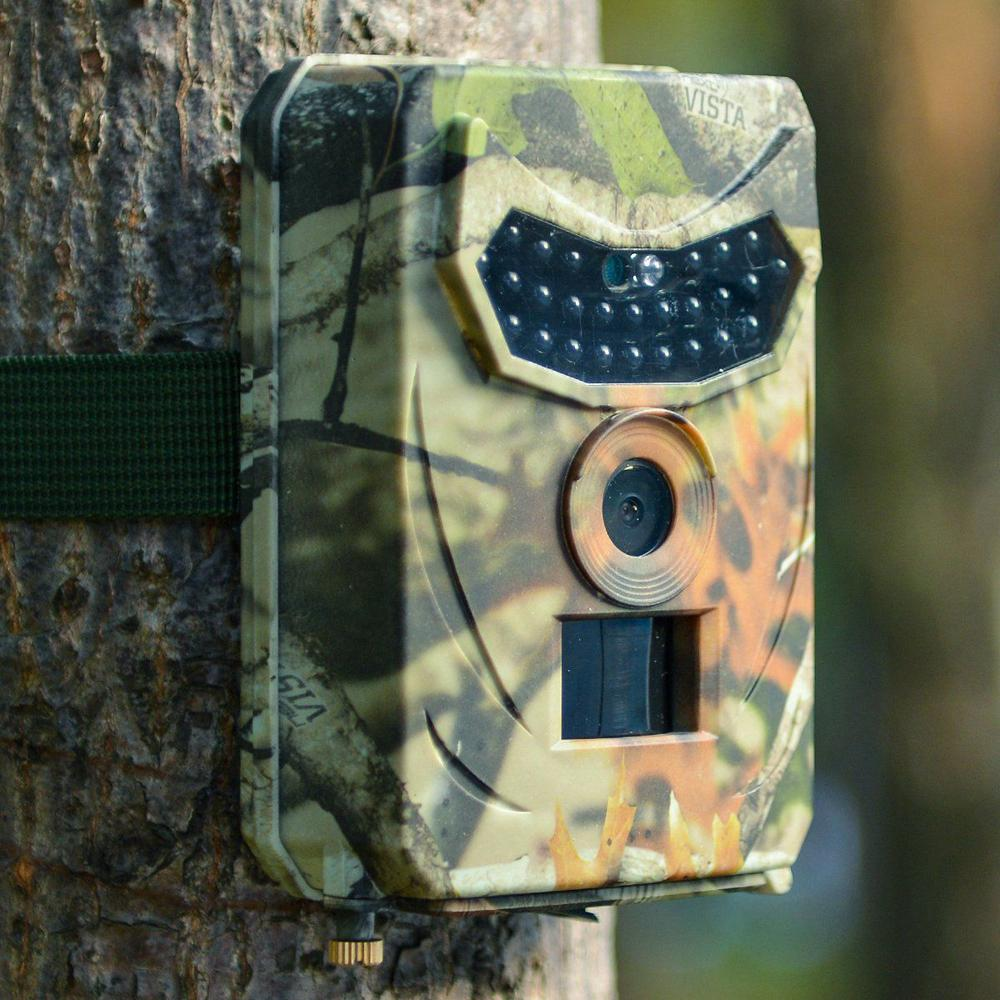 12MP 1080P HD Hunting Trail Camera Video Scouting Infrared Game Trail Waterproof