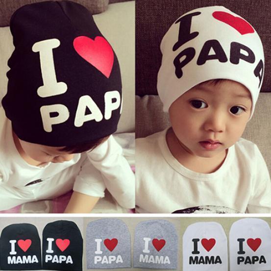Baby дитячої дитина хлопчик дівчина любов серце м'який теплий капелюх в'язані Cap бавовни Beanie