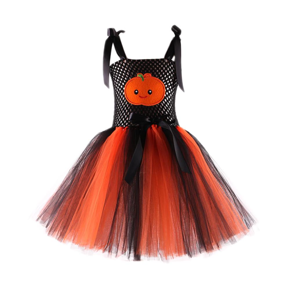 Baby Girl Fancy Dress Cutest Pumpkin Patch UK PUMPKIN HALLOWEEN TUTU ROMPER
