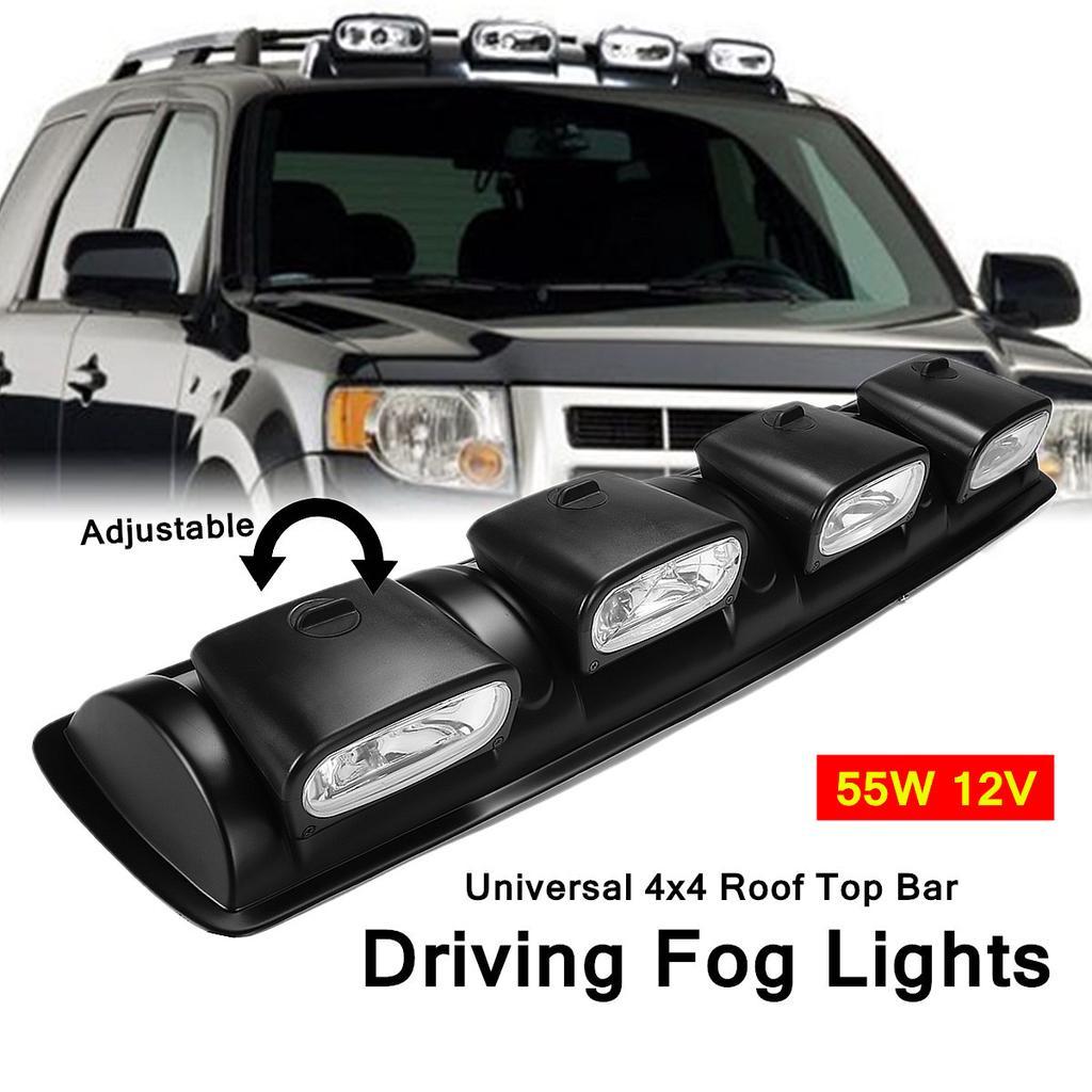 4X 160W LED Driving Work Light Spot Lamp Waterproof Off-Road Boat Truck 12V 24V