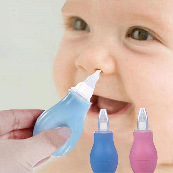 手动硅胶吸鼻器 吸鼻器 泵式婴儿吸鼻器/感冒鼻涕清洁 安全无毒