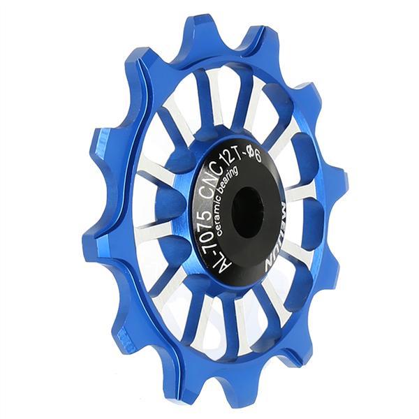 Ceramic Rear Derailleur Bike Bearing Jockey Wheel MTB BMX Guide Pulleys 12T