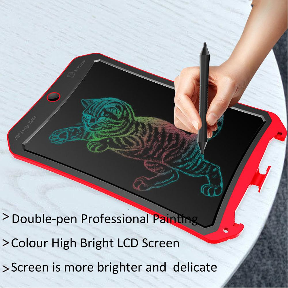 Orange Professional Painting WP9309 8.5 inch LCD Color Screen Writing Tablet Handwriting Drawing Sketching Graffiti Scribble Doodle Board for Home Office Writing Drawing Color : Pink