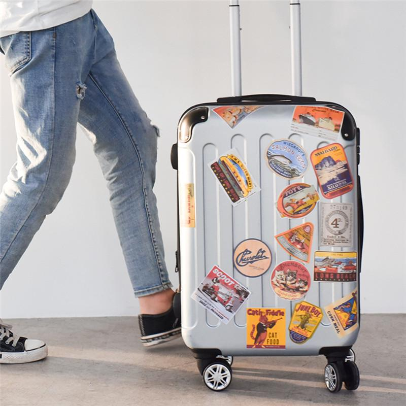 Elastic Travel Luggage Cover Summer Ice Cream Suitcase Protector for 18-20 Inch Luggage