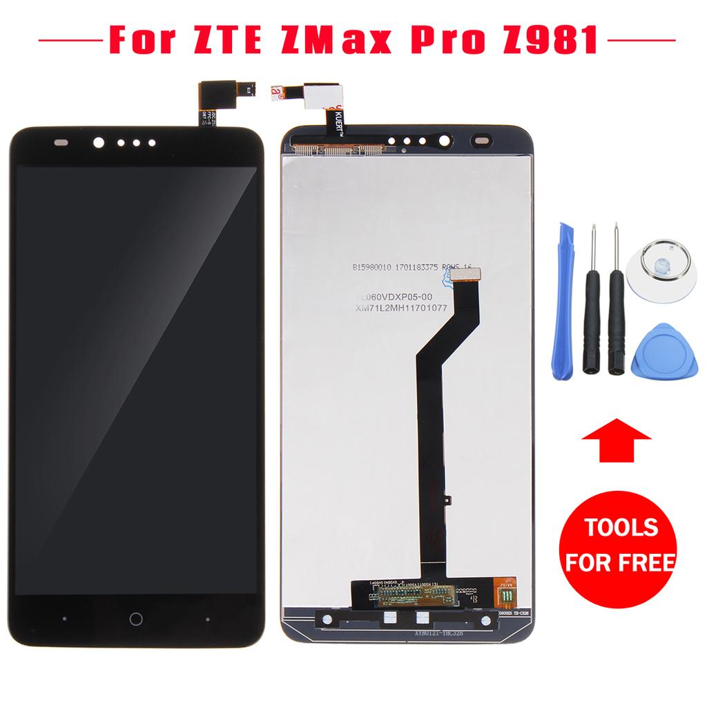 LCD Display+Touch Screen Digitizer Assembly Replacement For ZTE ZMax Pro  Z981