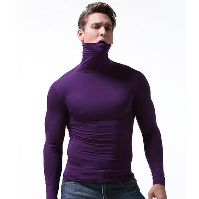 c080758f4 Men Thermal Swag Cotton Turtle Polo Neck Turtleneck Slim Fit Sweater Shirts  Top Blouse Cloth