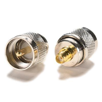 1pce N female jack to SMA female jack RF coaxial adapter connector